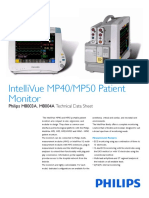 IntelliVue MP40 50 Patient Monitor