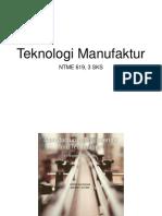 Teknologi Manufaktur I