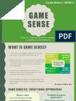 game sense ppt