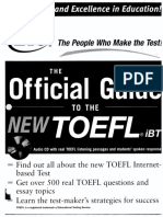 018- The Official Guide to the New TOEFL IBT_2006 (With Audio)