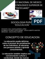 Sociologia Rural - Educacion