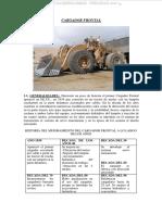 Manual Cargadores Frontales Partes Estructura Componentes Sistemas Tablero Instrumentos Controles Palancas Operacion