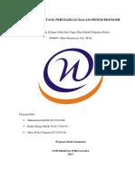 Tugas Makalah Pengantar Bisnis Bab 1 Kelompok 1 Perusahaan Dalam Sistem Ekonomi
