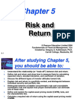 Risk and Return Chapter 5