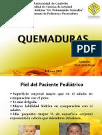 Quemaduras Pediatria