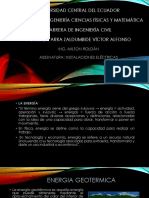 Energia Geotermica y Biomasa