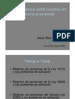 Jurisprudencia Constitucional (22MAY08) 270508