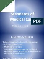 Standarts of Medical Care