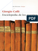 Enciclopedía de los maestros Giorgio Colli.pdf