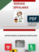 Exposicion Residuos Hospitalarios - Riesgos Biologicos