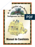 X Vestibular Dos Povos Indígenas No Paraná - Manual Do Candidato, De João Cesar Guirado (Manual)