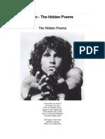 Morrison, Jim - The Hidden Poems