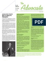 MARCH 2009 Advocate Newsletter, Bicycle Alliance of Washington