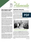 JUNE 2009 Advocate Newsletter, Bicycle Alliance of Washington