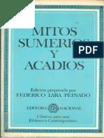 Lara Peinado Federico - Mitos Sumerios Y Acadios.pdf