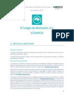 El Colegio de Michoac n a.C.