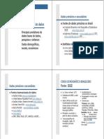 Principais Fontes de Dados 2006