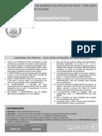 Quadrix 2016 Crq 18 Regiao Pi Auxiliar Administrativo Prova