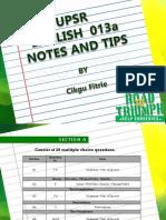 tips upsr 2016.pptx