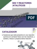 Catalisis y Reactores Cataliticos