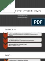 El Postestructuralismo