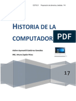 Historia de Lacomputadora