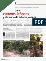 Fertirrigacion en Cultivos Leñosos