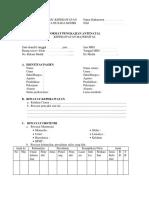 4. Format Pengkajian Antenatal