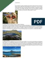 Principales Áreas Protegidas en Guatemala