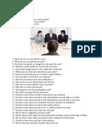 daftar pertanyaan