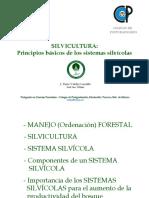 SILVICULTURA- Principios básicos de los sistemas silvícolas