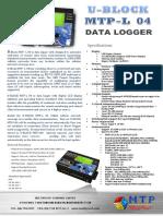 DataLogger MTP L04_EdgeGPRS Modem