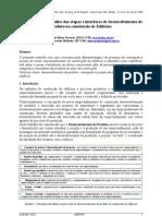 A - Caracterização e análise das etapas e interfaces de desenvolvimento de produto na construção de edifícios