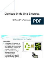Distribución de Una Empresa