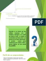 Tema 1.1.1 Caracteristicas de Un Emprendedor