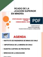 5 - Mercado de La Educacion Superior - L Contreras - Pdte IIMCh