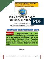 Plan de Seguridad u Huacho 2017