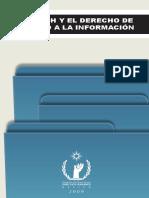 CNDH Y DERECHO A LA INFORMACION