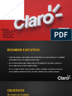 CLARO - GERENCIA DE MARKETING