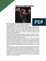 Biografía de Bob Marley (1)