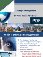 Strategic Management Amir Raslan Abu Bakar