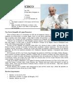 Trabajo de LIDERAZGO ( El Papa Franisco )
