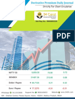 Derivative Premium Daily Journal-3rd October 2017-Tuesday