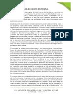 Contrato de Obra y Protocolos