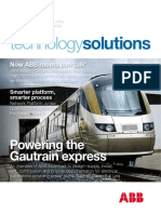 Powering the Gautrain Express ABB Technology Solutions 01 2009
