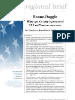 Boone-Doggle
