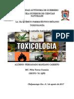 Guía de Estudio Toxicología Básica