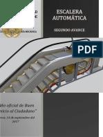 Diseño mecánico de una escalera automática