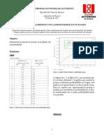 Reporte_Variación de Presión vs La Profundidad