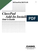 ClassPad ADD-In En